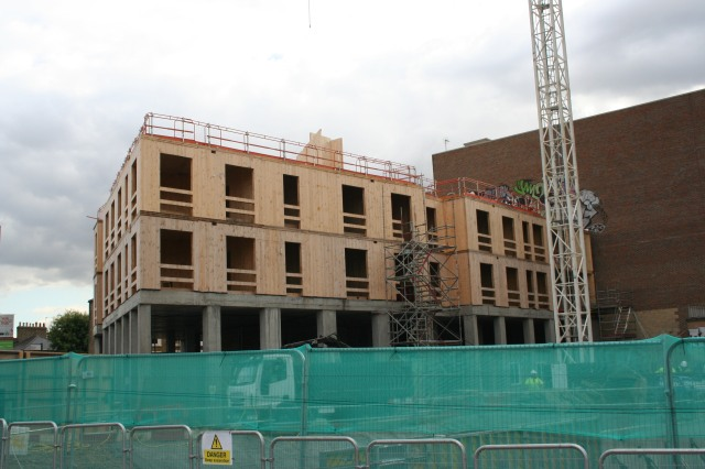 Dalston Lane - 2 storeys constructed so far