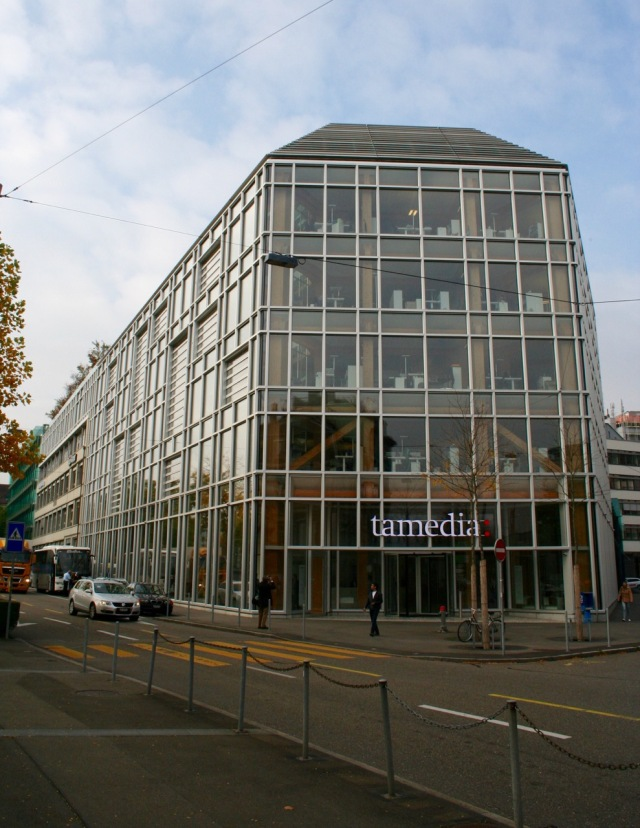 Tamedia Headquarters