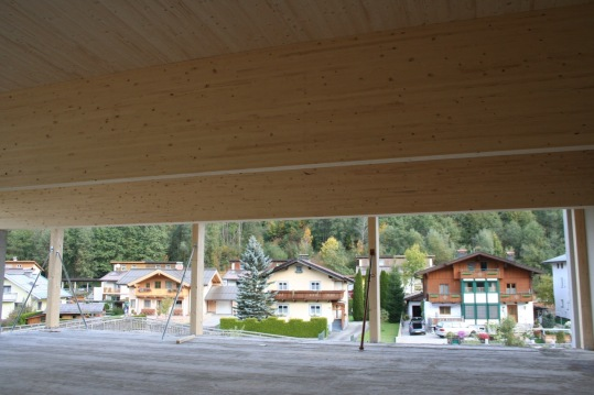 Timber inside
