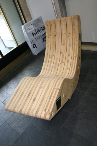 A CLT rocking Chair
