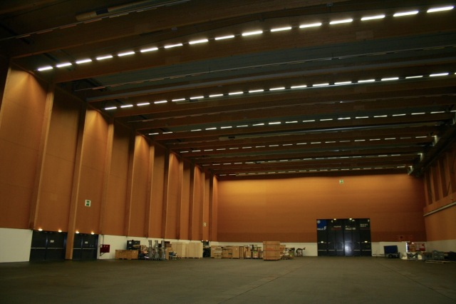 Inside the big hall